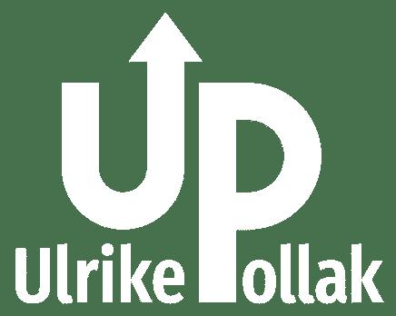Logo Ulrike Pollak hell